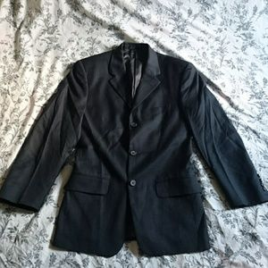 Calvin Klein Suits & Blazers - CALVIN KLEIN Navy Midnight Blue 3-button Suit